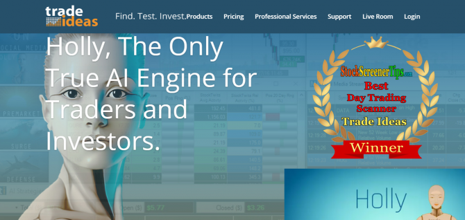 Best Paid Stock Screeners -Trade Ideas stock screener