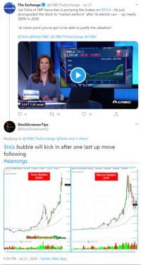 cnbc twitter bubble