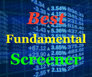 best fundamental analysis stock screener